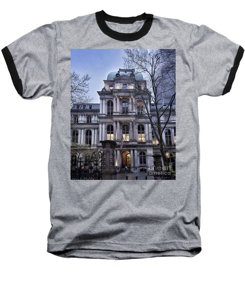 Old City Hall, Boston Baseball T-Shirt