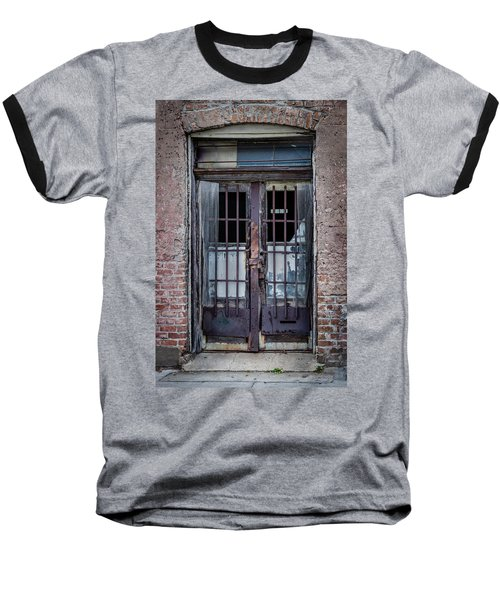 Old Door Baseball T-Shirt