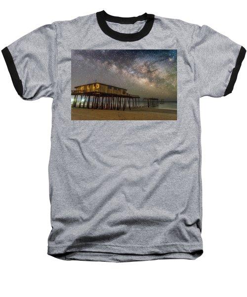 Old Frisco Pier Baseball T-Shirt