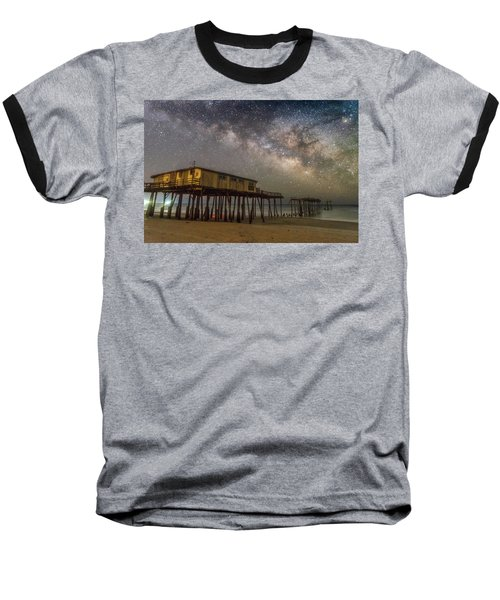 Old Frisco Pier Baseball T-Shirt