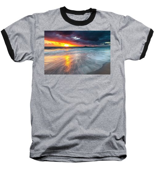Old Lighthouse Baseball T-Shirt