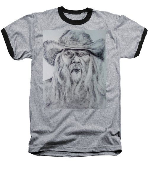Old Man In A Hat  Baseball T-Shirt