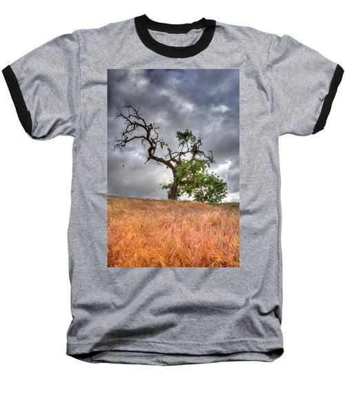 Old Oak Tree Baseball T-Shirt