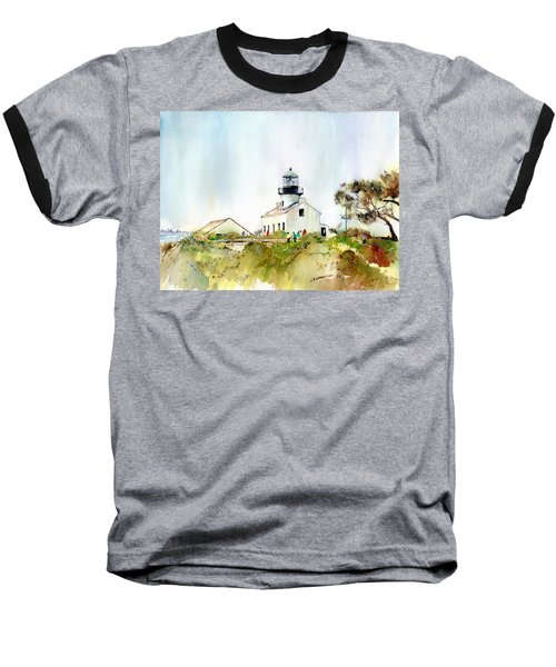 Old Point Loma Light Baseball T-Shirt