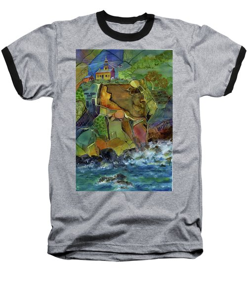 Old Point Loma Lighthouse Baseball T-Shirt