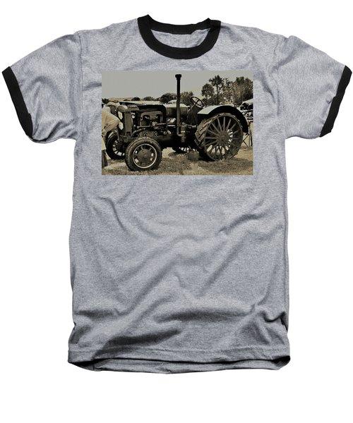 Ye Old Tractor Baseball T-Shirt