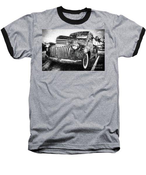 Old Truck  - Painterly Baseball T-Shirt