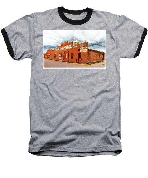 Old Warehouse In Farmville Virginia Baseball T-Shirt