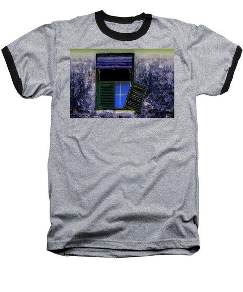 Old Window 2 Baseball T-Shirt