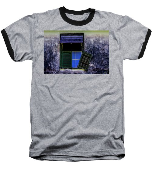 Old Window 2 Baseball T-Shirt