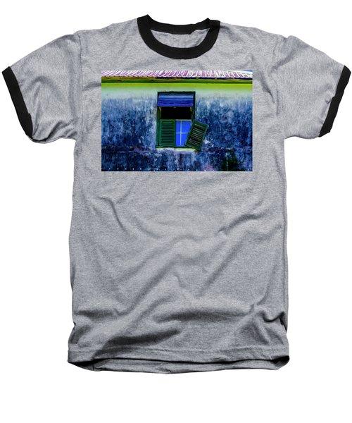 Old Window 3 Baseball T-Shirt