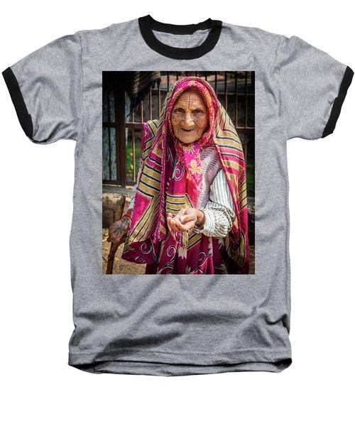 Old Woman Baseball T-Shirt