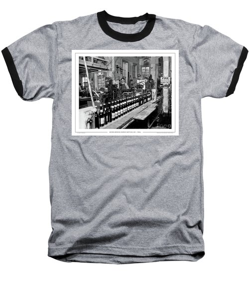 Olympia Brewing Company Bottling Line, 1920ca Baseball T-Shirt