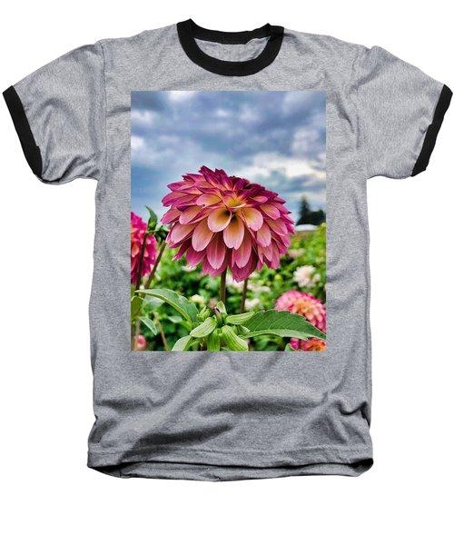 Ominous Sky Baseball T-Shirt