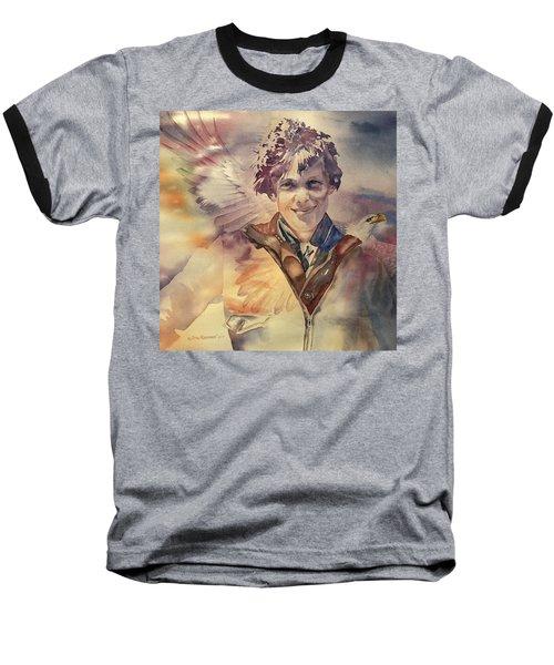 On Eagles Wings Baseball T-Shirt