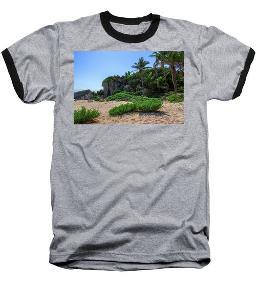 On The Coast Of Tulum Baseball T-Shirt