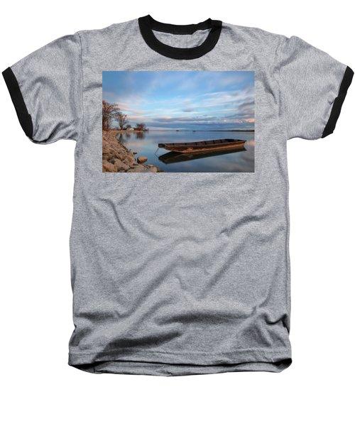 On The Shore Of The Lake Baseball T-Shirt