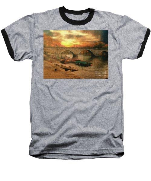 Once More To The Bridge Dear Friends Baseball T-Shirt