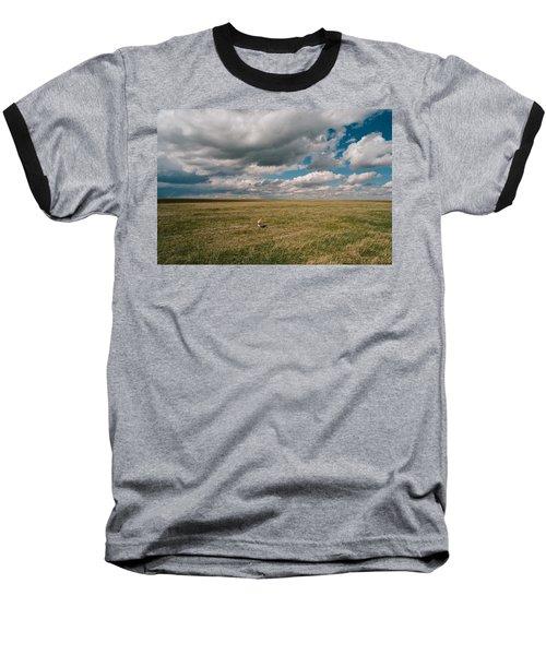 One Happy Dog Baseball T-Shirt