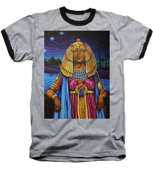 One Night Over Egypt Baseball T-Shirt