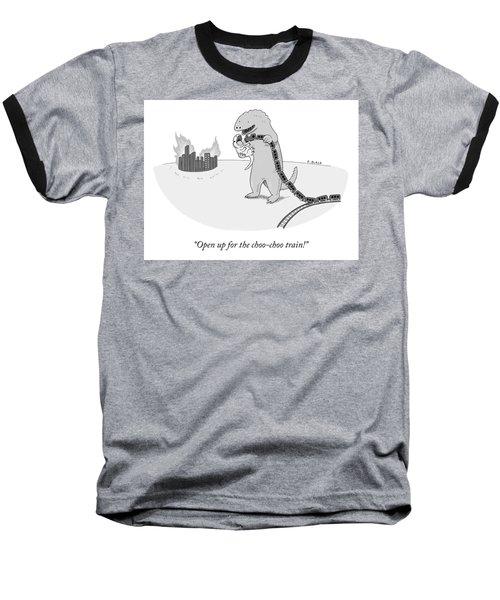 Open Up Baseball T-Shirt