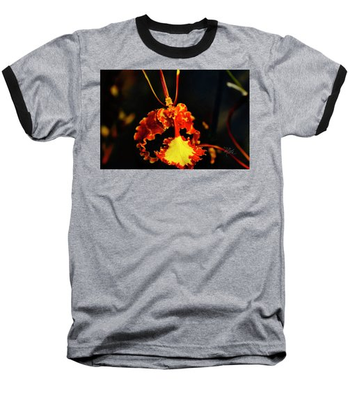 Orchid Study Four Baseball T-Shirt