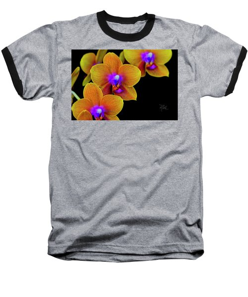 Orchid Study Ten Baseball T-Shirt