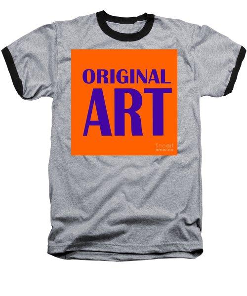 Original Artwork Baseball T-Shirt