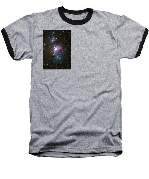 Orion Nebula Baseball T-Shirt