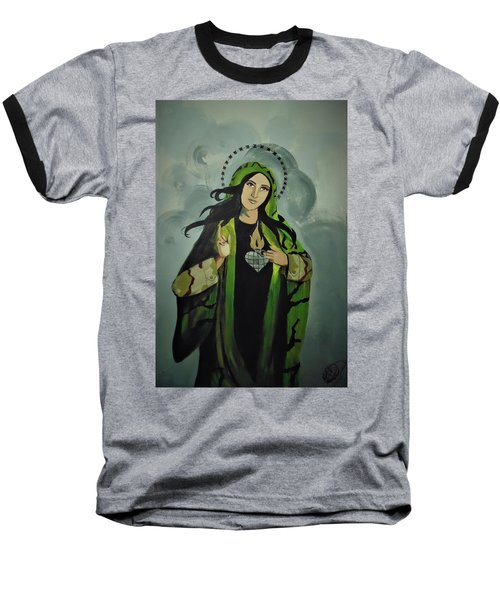 Our Lady Of Veteran Suicide Baseball T-Shirt