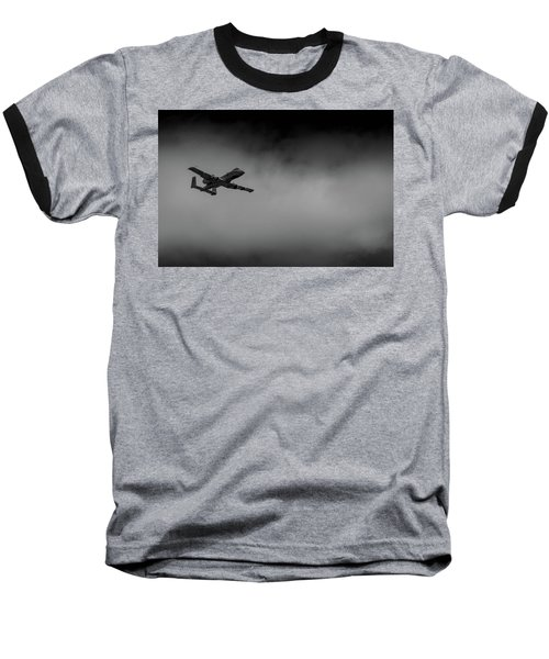 Out Of The Clouds - A-10c Thunderbolt Baseball T-Shirt