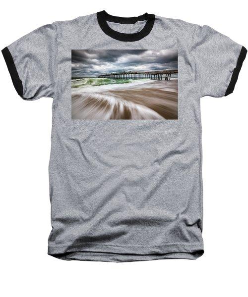 Outer Banks Nc North Carolina Beach Seascape Photography Obx Baseball T-Shirt