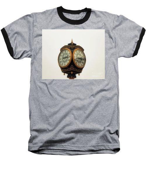 Outside Timepiece Baseball T-Shirt