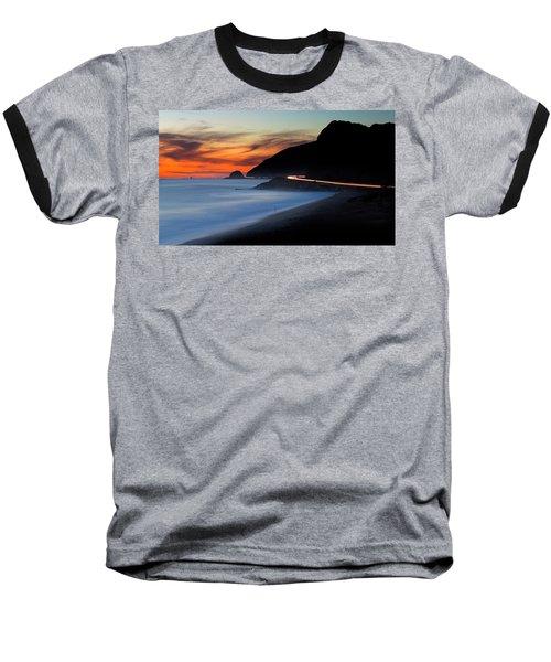 Pacific Coast Highway Baseball T-Shirt