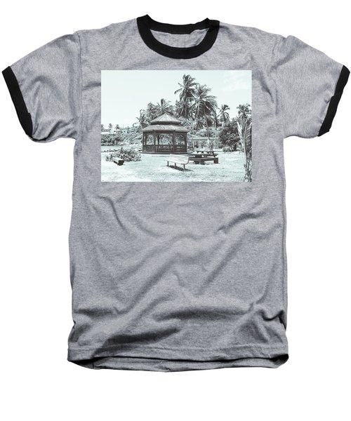 Pagoda On The Sea Baseball T-Shirt
