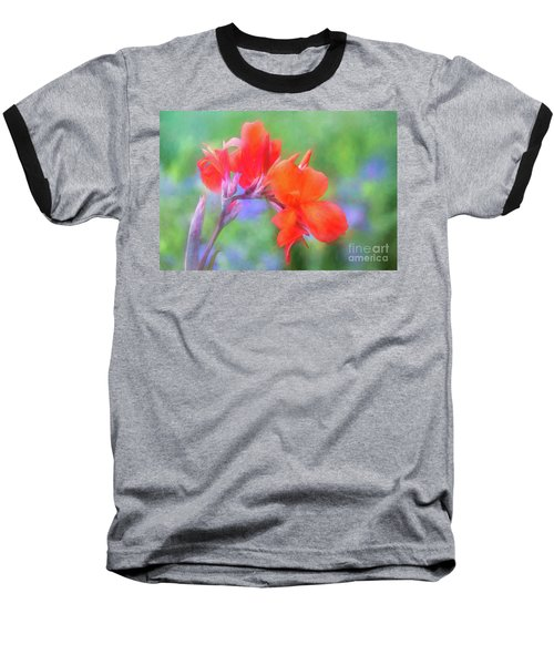 Painted Canna In The Evening Light Baseball T-Shirt