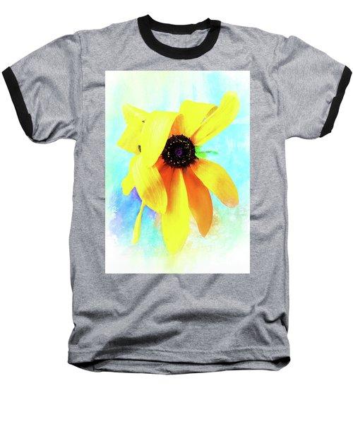 Flopsy - A Charming Wild Black-eyed Susan  Baseball T-Shirt