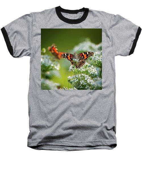 Painted Ladies Baseball T-Shirt