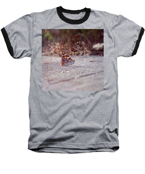 Painted Lady - Vanessa Cardui Baseball T-Shirt