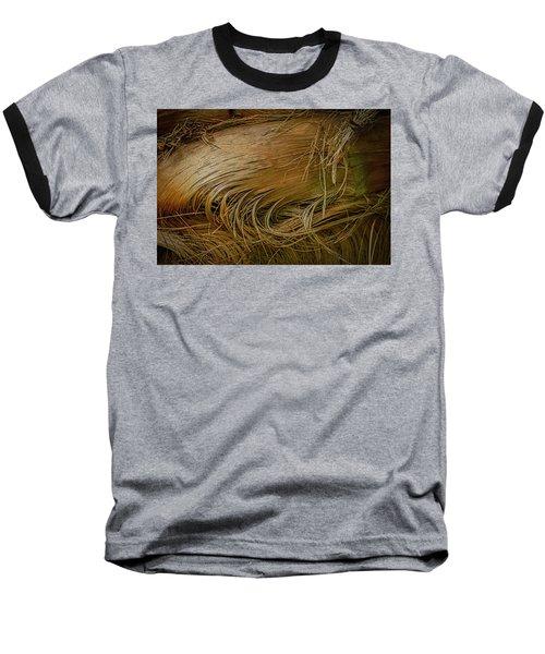 Palm Tree Straw Baseball T-Shirt