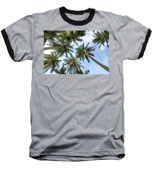 Palms  Beach Baseball T-Shirt