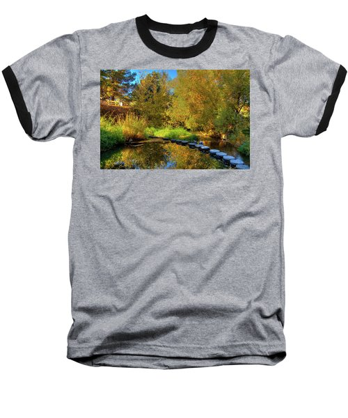 Baseball T-Shirt featuring the photograph Palouse River Reflections by David Patterson
