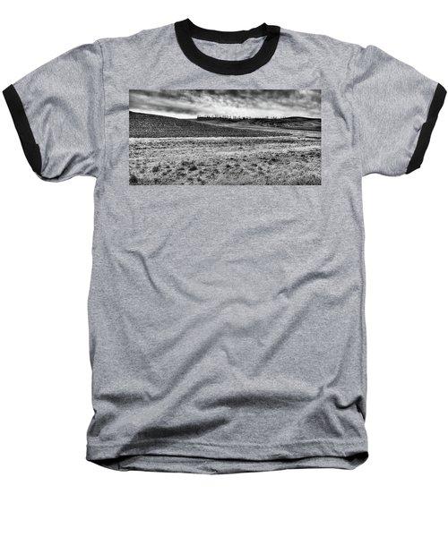 Baseball T-Shirt featuring the photograph Palouse Treeline by David Patterson