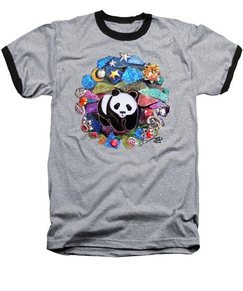 Panda Bear 1 Baseball T-Shirt