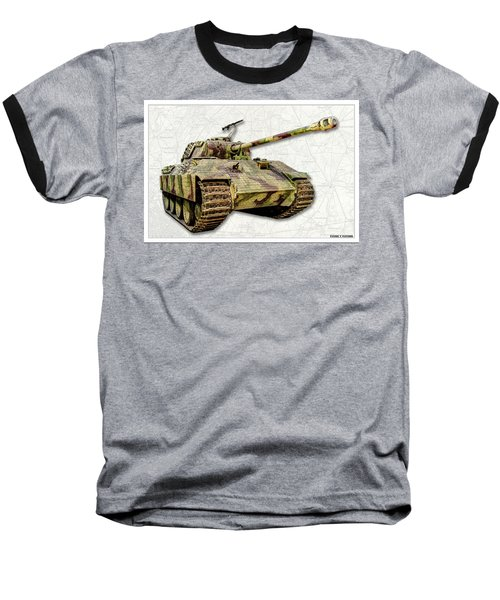 Panzer V Panther Baseball T-Shirt
