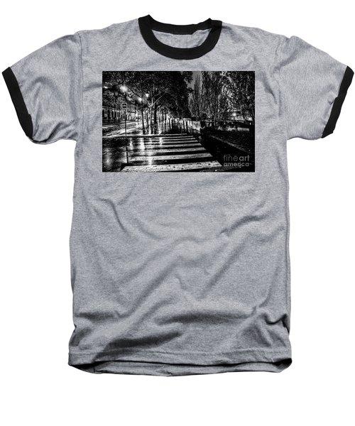 Paris At Night - Quai Voltaire Baseball T-Shirt