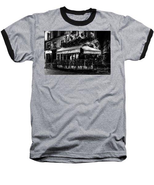 Paris At Night - Rue De Buci Baseball T-Shirt