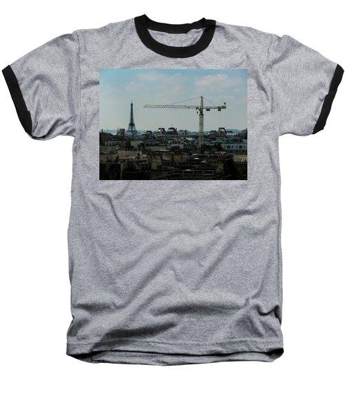 Paris Towers Baseball T-Shirt