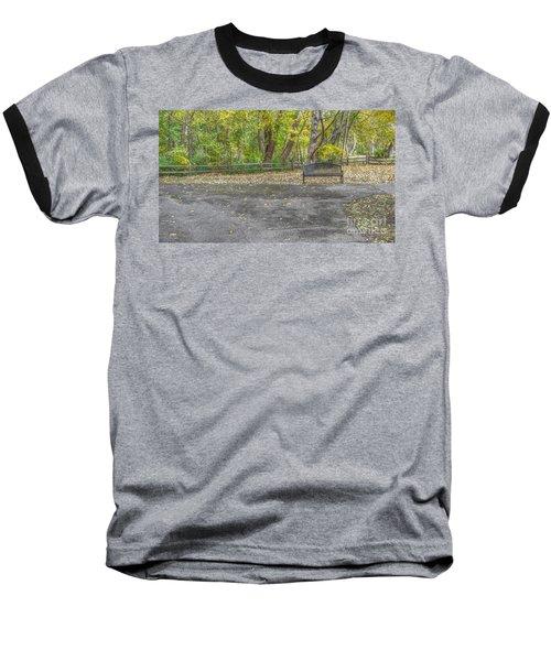 Park Bench @ Sharon Woods Baseball T-Shirt
