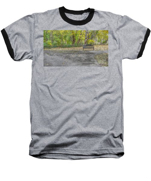 Park Bench @ Sharon Woods Baseball T-Shirt